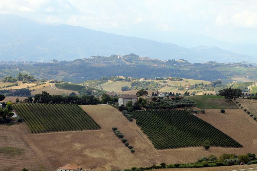 Landskap i södra Marche